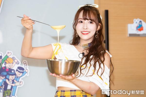 ▲▼蜂蜜爆米花 HONEY POPCORN早餐約會,三上悠亞。(圖/記者季相儒攝)