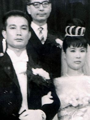 ▲▼申星一、嚴鶯蘭1964年結婚(圖/翻攝自南韓論壇Tistory)