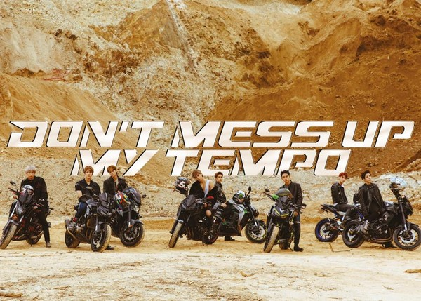 ▲EXO新專輯《DON'T MESS UP MY TEMPO》回歸樂壇。(圖/翻攝自Facebook/weareoneEXO)