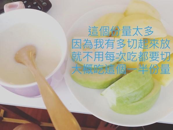 ▲▼舒子晨大方分享減脂菜單。(圖/翻攝自舒子晨Instagram)