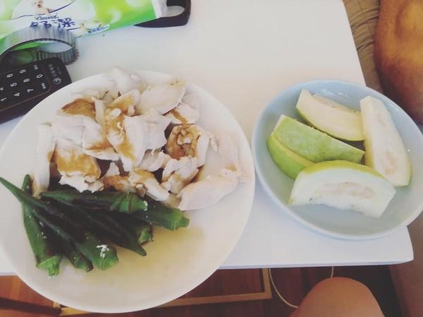 ▲舒子晨大方分享減脂菜單。(圖/翻攝自舒子晨Instagram)