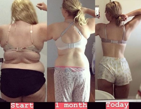127公斤遭霸凌,肉肉女1年甩肥油變身爆乳女神。(圖/翻攝自Instagram/nolongerfatjosie)