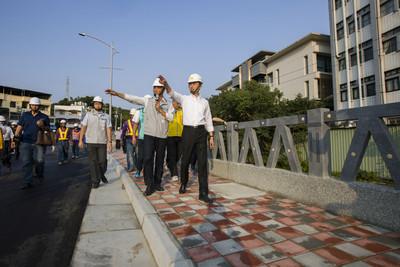 三姓橋路工程 預計明年1底完工