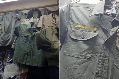 越南有8字編碼草綠軍服!菜鳥秒敬禮