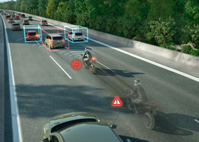德國馬牌與Bosch推機車安全系統
