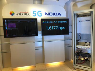 台灣大/Nokia完成5G與終端互連互配
