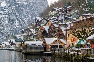到奧地利、捷克童話世界過聖誕節