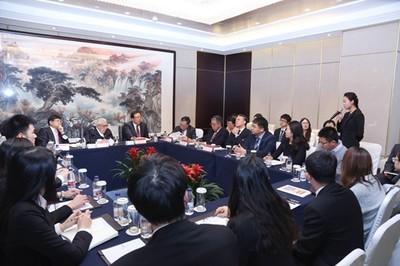 訪北大 季辛吉:中美應加強談話並合作