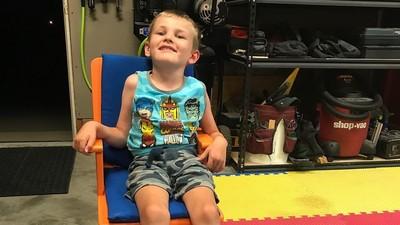 被驚嚇會死! 5歲男孩得「腦白質消失症」 醫生估計難活過7歲