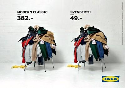 IKEA太誠實! 「椅子功能是拿來堆衣服」所以買便宜的就好