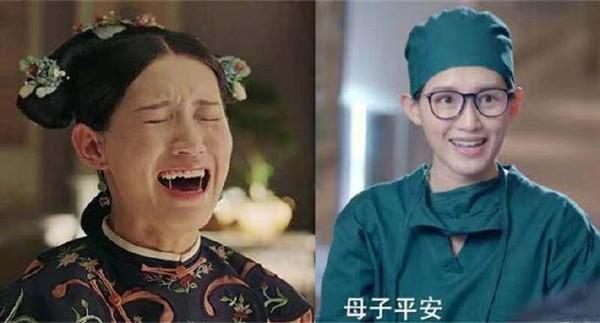 ▲《延禧攻略》蘇青新戲演癡情少女,網驚認不出。(圖/翻攝自微博)