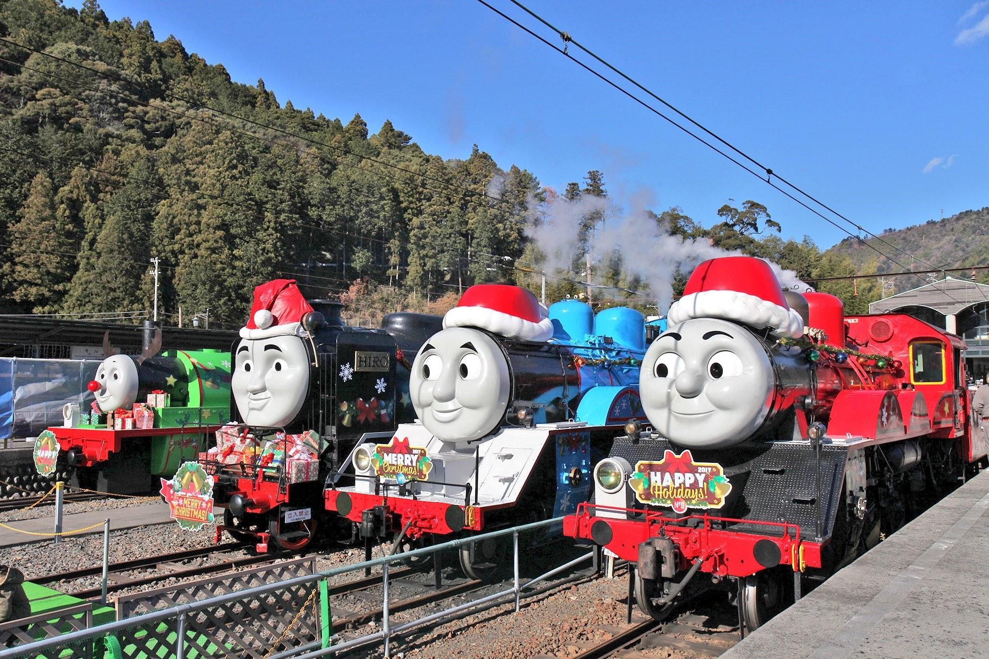 ▲▼ 湯瑪士小火車。(圖/翻攝自推特/@oigawa_online)