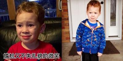 美國8歲「假笑男孩」紅爆中國