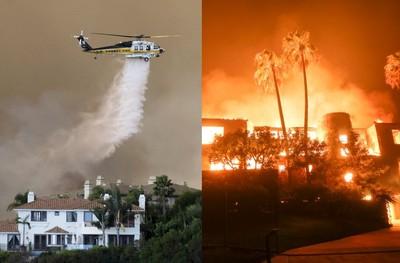 燒到好萊塢明星豪宅!加州野火蔓延