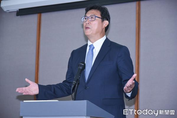 ▲▼台北市長候選人辯論,民進黨候選人姚文智。(圖/記者林敬旻攝)