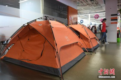 阿里備戰雙11做足加班準備! 行軍床+帳篷「搭好搭滿」