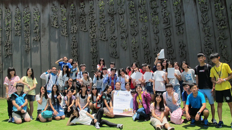 ▲▼國立員林高中在地文化賴和走讀文學活動。(圖╱國教署提供)