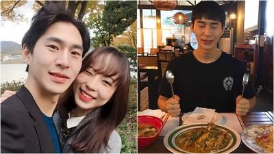 網友吃飯靠他陪 南韓全民飯友突然曬女友 公開甜蜜合照:好爽啊