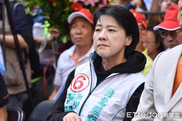 ▲▼親民黨台北市議員參選人黃珊珊。(圖/記者李毓康攝)