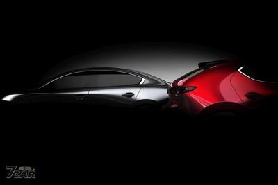 大改款Mazda3房車版預告照曝光