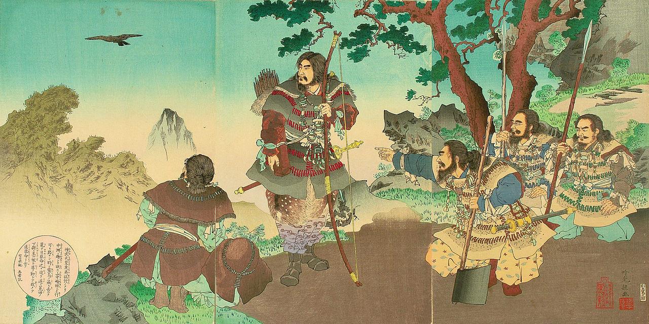 ▲神武天皇,日本 。(圖/翻攝自wikipedia)