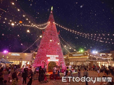 全台聖誕限定4處「下雪」景點