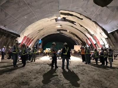 蘇花改8隧道全貫通 2020春節前通車