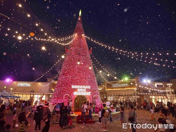 定時飄雪、聖誕市集超浪漫!桃園「華泰名品城聖誕村」明起開村 | ETto