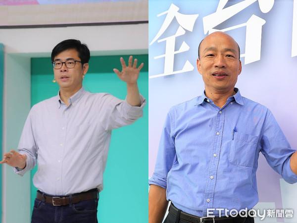 ▲▼高雄市長候選人陳其邁、韓國瑜。(圖/陳其邁競選辦公室提供、記者宋德威攝)