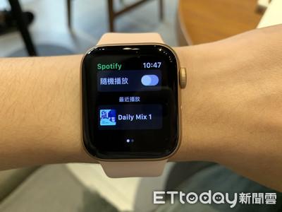 Apple Watch版Spotify也開通