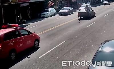 穿病患服過馬路挨撞 送醫命危