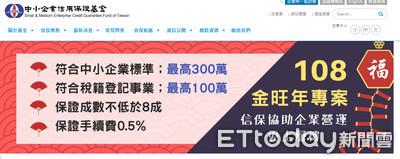 中小信保基金推300萬金旺年專案