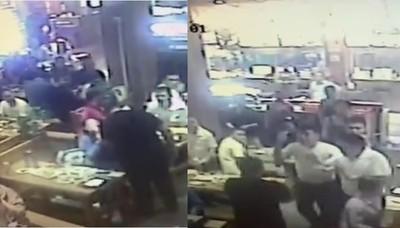 餐廳打老婆犯眾怒 3男衝上前揍趴他