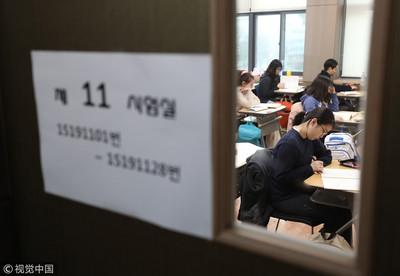 南韓大考英聽時段禁止飛機起降