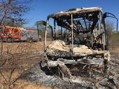 辛巴威巴士爆炸42死20傷