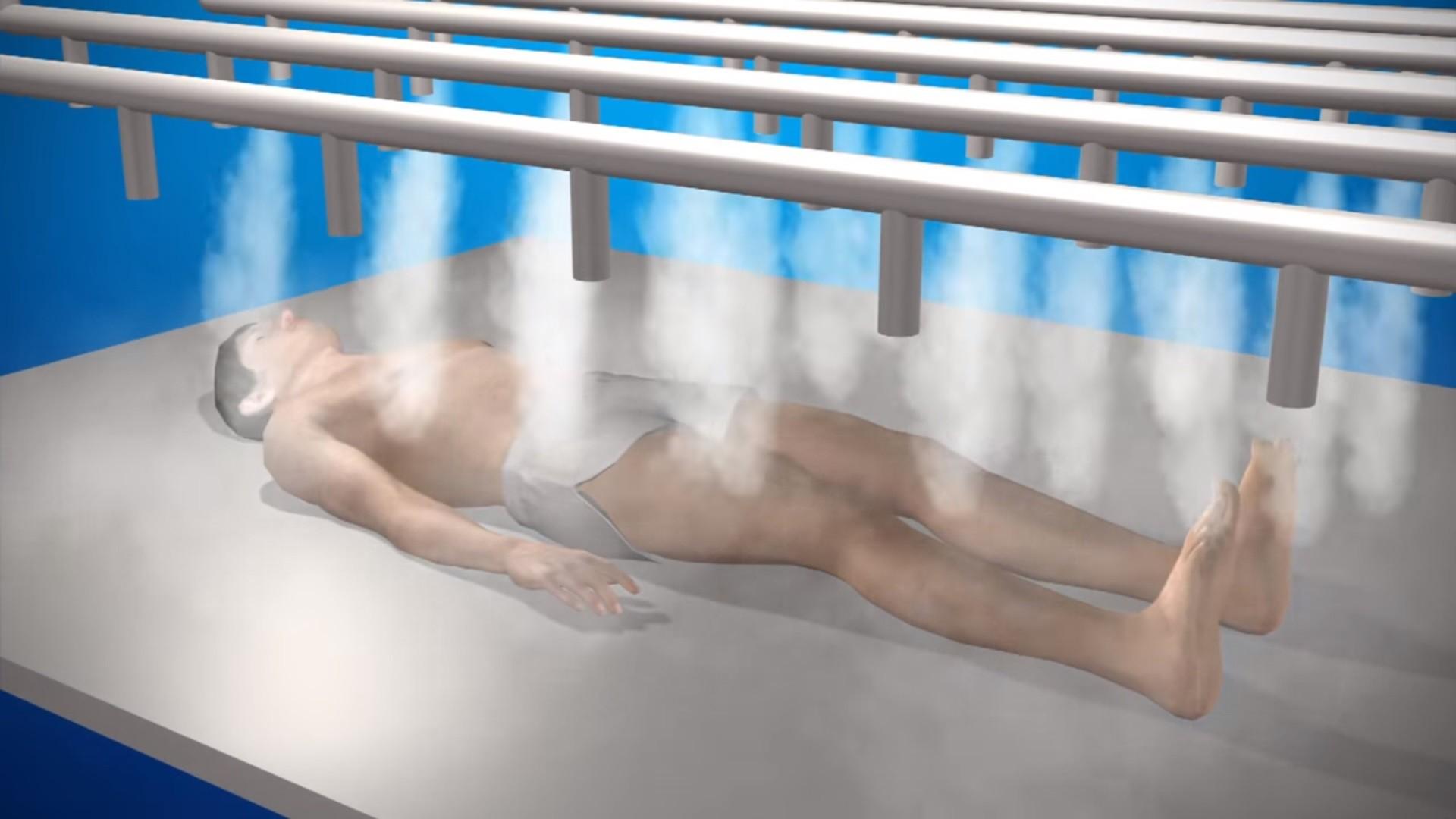 ▲▼瑞典生物學家蘇珊妮(Susanne Wiigh-Mäsak)研究出「冰葬」。(圖/翻攝自YouTube/News Direct)