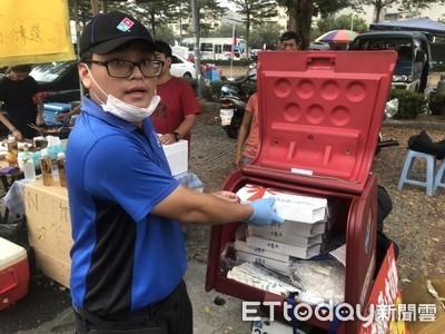 韓國瑜晚會 達美樂湊一腳搶商機