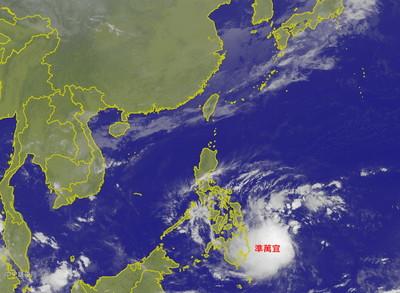 萬宜颱風恐生成 專家:選後大變天
