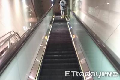 補教師搭捷運電扶梯 偷拍窄裙女