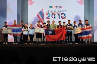 機器人世界賽 台灣2金2銀1銅