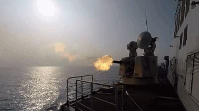 解放軍10多艘艦艇入黃海實彈射擊