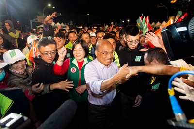 蘇貞昌:當選打造大匠國際博覽會