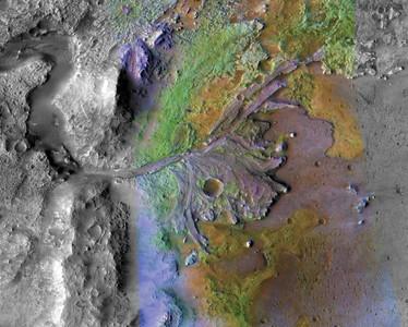 NASA選定傑澤羅隕石坑 2021登火星