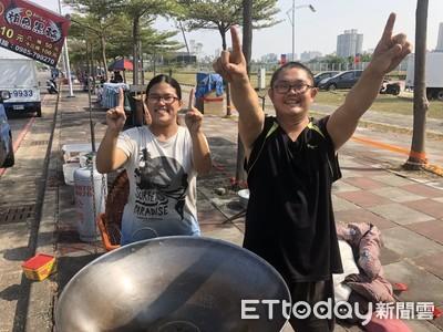 韓國瑜凱道造勢少一味 警方:嚴禁設攤