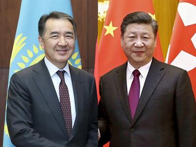 習近平會哈薩克總理 盼中哈加強合作