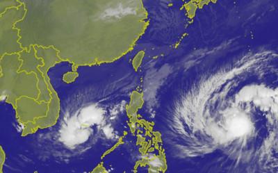 即/29號颱風天兔生成!一路向西