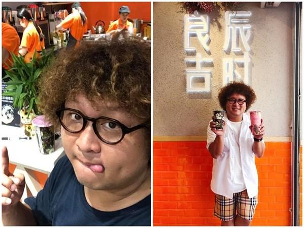 ▲納豆飲料店爆出「黑斑珍珠」。(圖/翻攝自納豆臉書)