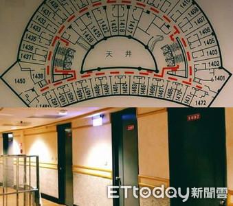 1401房消失!台南鐵X大飯店女嚇逃