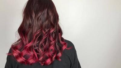 歐美新銳髮色! 唯美高貴「迷霧晶礦染」搶眼在寶石紅