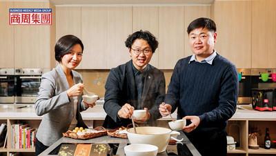 二代同桌吃飯20年 桂冠精準接班秘密